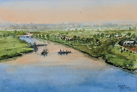 Riverside Dawn