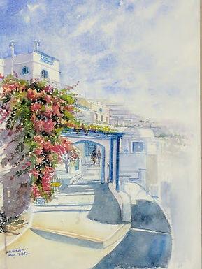 Picturesque Santorini