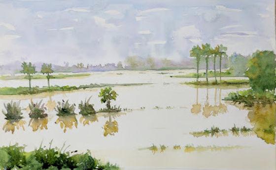 Inundated