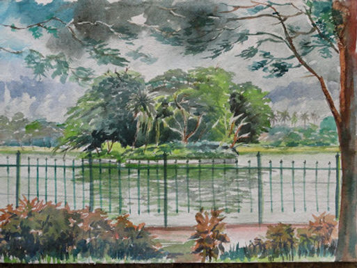 ulsoor lake-plein air