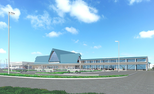 image of new terminal