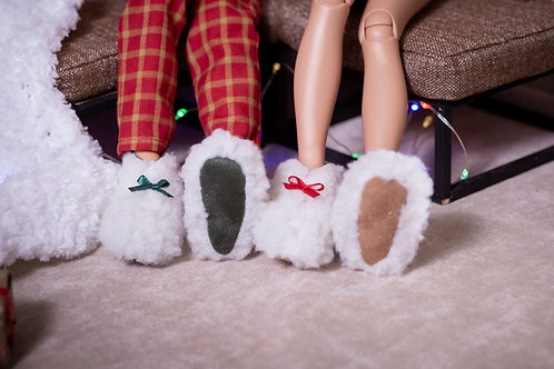 1/4 MSD bjd slippers for Minifee