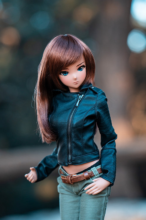 Jacket from ECO-leather for Smart Doll, 1/3, BJD SD13