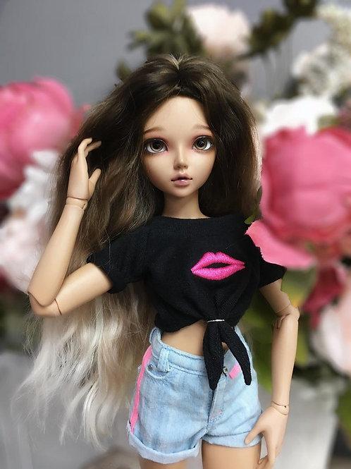 1/4 MSD bjd T-shirt for Minifee & Similar 16 inch dolls