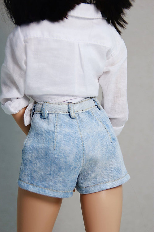 MSD bjd denim shorts for Minifee
