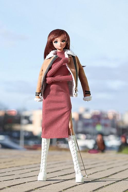 Dress  pink for Smart Doll, 1/3, BJD SD13