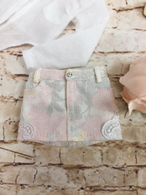 MSD bjd denim skirt for Minifee