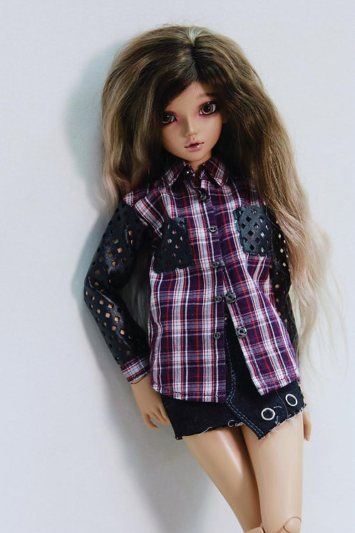 1/4 MSD bjd Shirt for Minifee & Similar 16 inch dolls