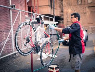 Não lave sua bike além do necessário