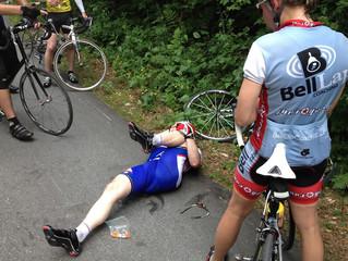 O que causa cãibras nos ciclistas