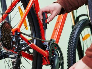 Cuidados ao deixar a bicicleta parada durante as férias/feriados