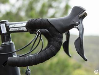 Guia de guidões para bicicletas de estrada