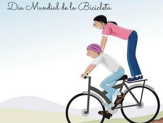 A alucinada história do Dia Mundial da Bicicleta Digamos, em síntese, que a bicicleta não era o foco