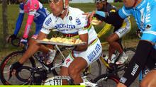Alimentação para ciclistas