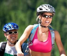 Perca peso pedalando