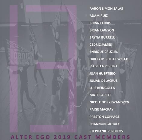 Alter Ego '19 Cast Members