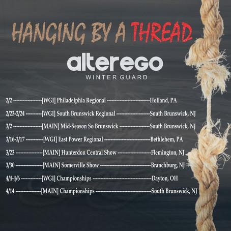 Alter Ego 2019 Show Schedule