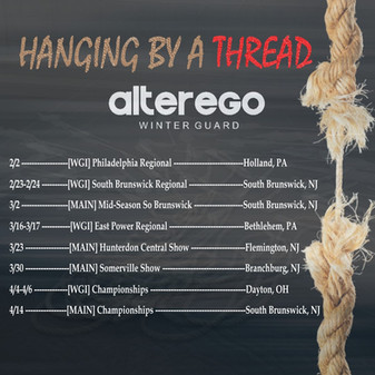 Alter Ego 2019 Show Schedule