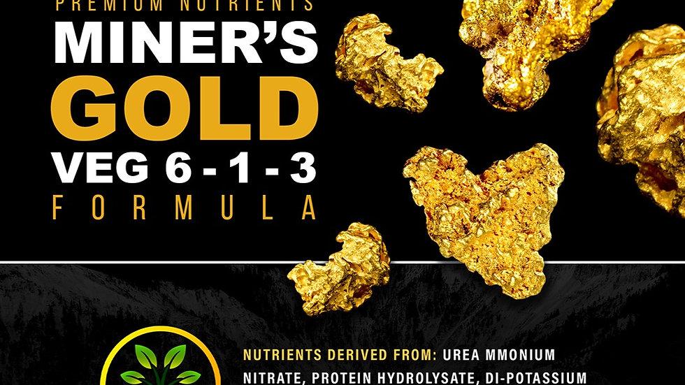 Miner's Gold 6-1-3 + 1.4% Kelp + Fe + Mn + Zn