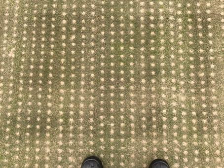 2020 Golf Course Aerification Season - Adding Biology to open holes.