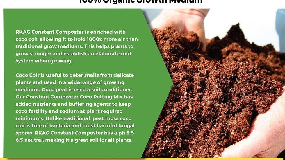 Constant Composter - Organic Coco Growth Medium 5 gallon bag