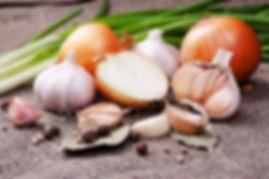 ingredientes selecionados pimenta