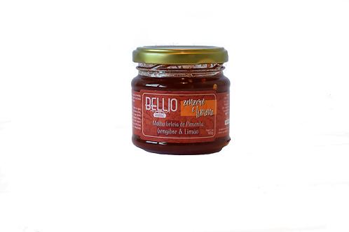 Geleia de Pimenta, Gengibre & Limão - 165 g