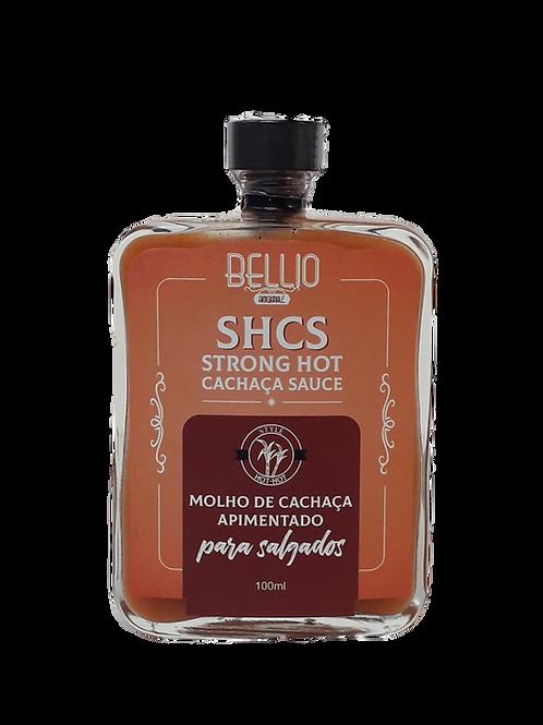 Molho de Cachaça Apimentado - SHCS - Strong Hot Cachaça Sauce - 100 ml