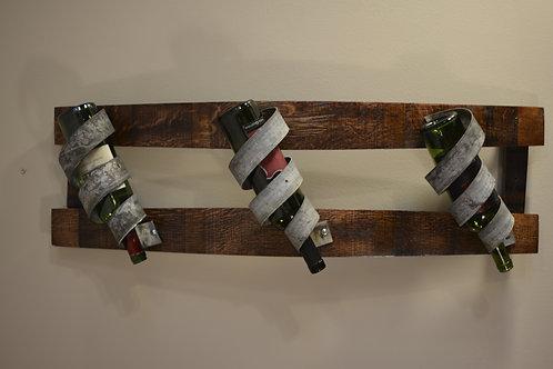 Double Triple Spiral Bottle Holder