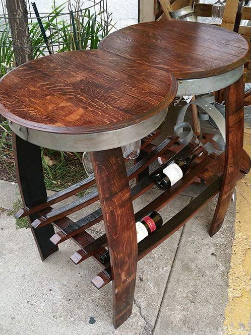 Double Barrel Head Table