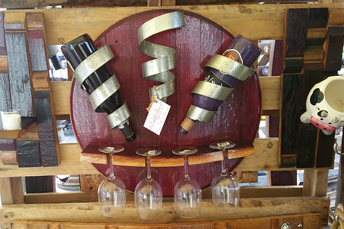 Barrel Lid Bottle Holder