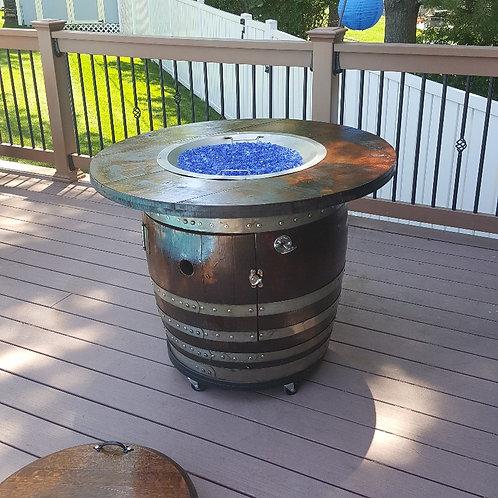 Barrel Fire Pit