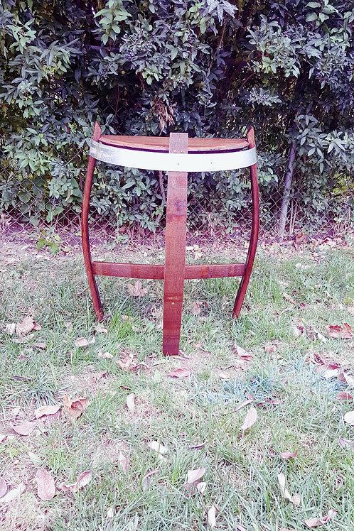 Half Barrel Head Table