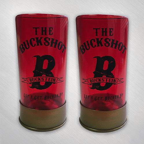"""""""The Buckshot"""" Shotgun Shell Shotglasses"""