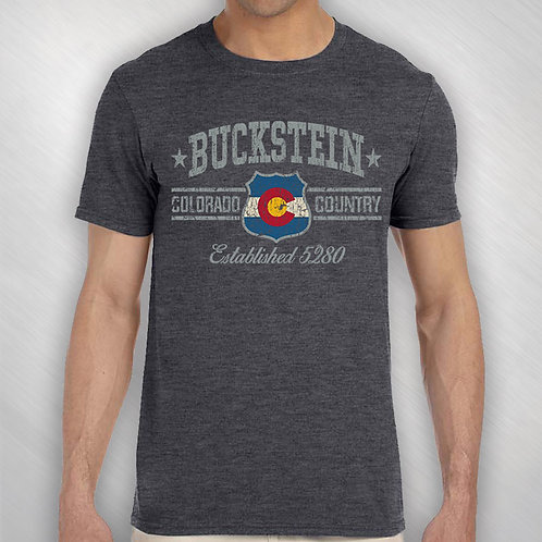 """Colorado Country"" Buckstein Tee"