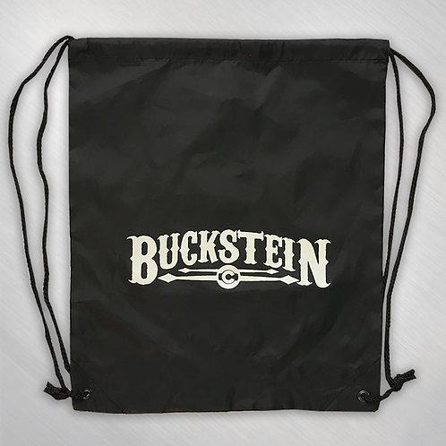 Buckstein Black Tote Backpack