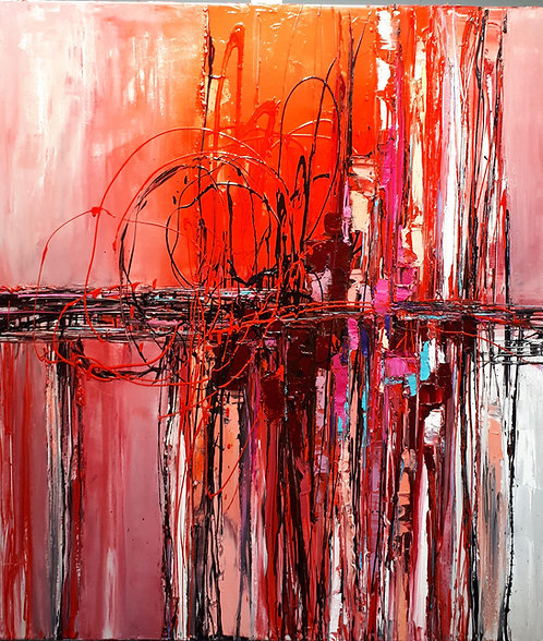 """The Importance Of An Ordinary Minute - 48"""" x 40"""""""