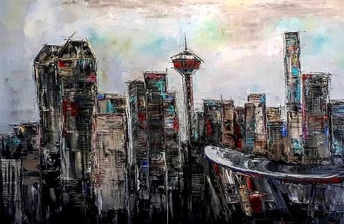 """City Of Dreams  - 40"""" x 60"""""""