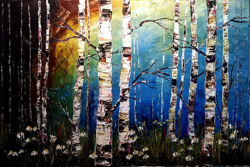 "Down The Path Of Seduction - 40"" x 60"""