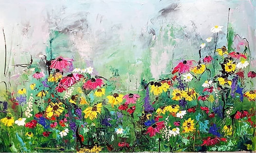 "Wild Is Her Favorite Color - 40"" x 60"""