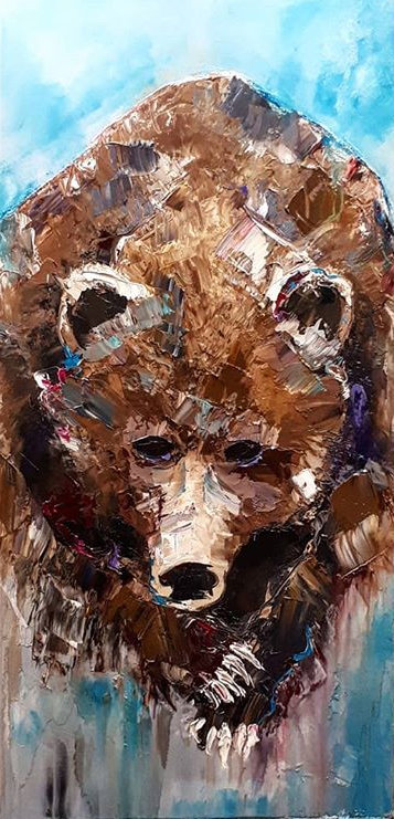 "Grin And Bear It  - 48"" x 24"""