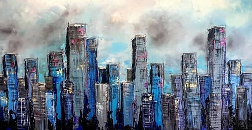 "New York I Love You - 30"" x 60"""