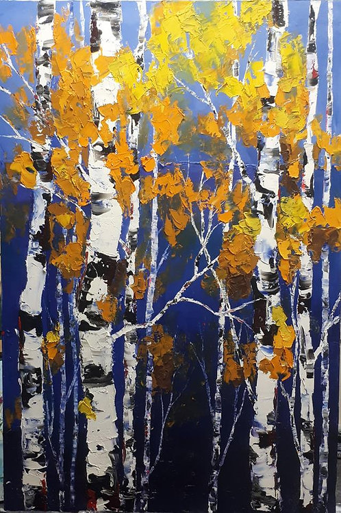 """The Trees In Our Future - 60"""" x 40"""""""