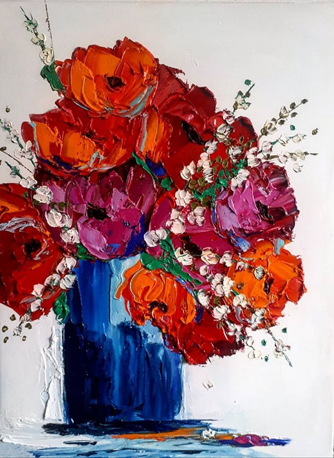 """Beautiful With A Hint Of Crazy - 24"""" X 18"""""""