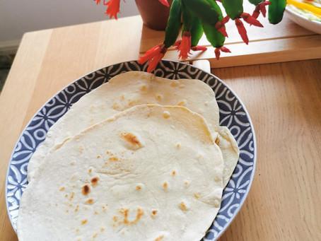 Home-Made Tortilla Wraps