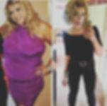 Sabrina May PT - Before and after