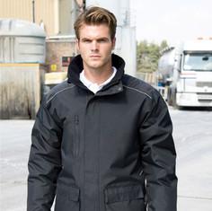 Result work guard jacket