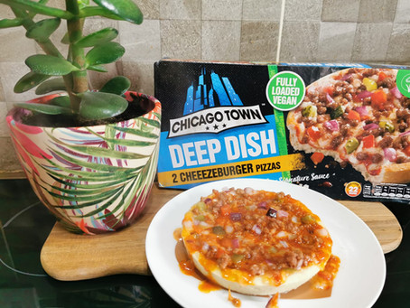 Chicago Town Deep Dish Cheezeburger Pizzas Review