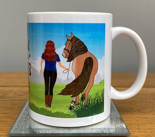 Equestrian Friends Mug