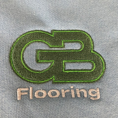 GB Flooring embroidered workwear